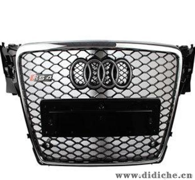奥迪RS4中网 audiRS4中网 A4L改装RS4中网 汽车改装 RS4窝蜂中网,ABS制动系统