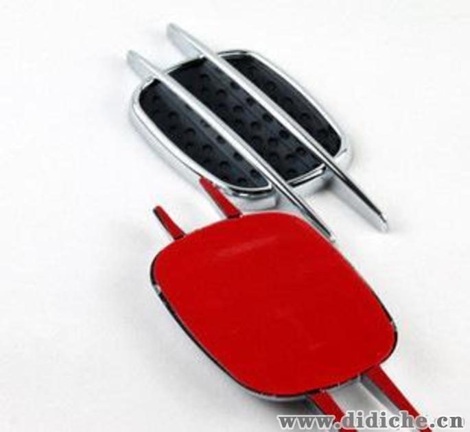 身进气口/汽车改装出风口/鲨鱼腮通风口装饰网格 通用型,ABS制动系统